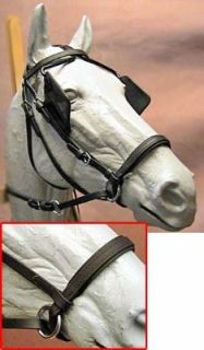 Bitless Beta Driving Headstall Bridle Medium Sports