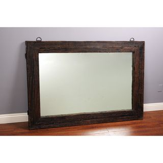 Reclaimed Railway Tie Wood 65 inch Mirror