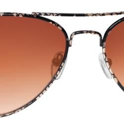 Adi Designs Womens Snake Print Aviator Sunglasses