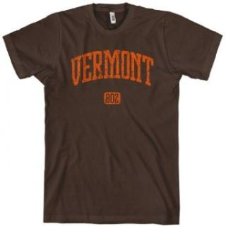 Vermont 802 Mens T shirt by Smash Vintage: Clothing