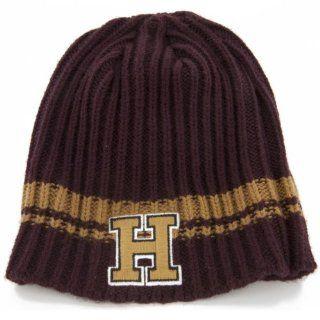 NCAA Harvard Ontario Knit Beanie: Sports & Outdoors