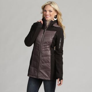 Halifax Womens Soft Shell Down Storm Cuff Parka