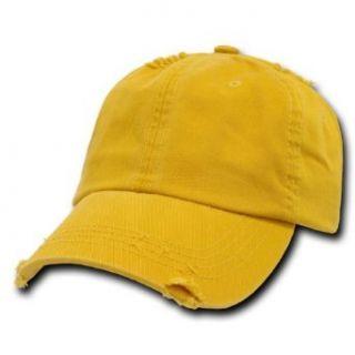 DECKY Vintage Polo Cap Baseball Caps (Adjustable , MANGO