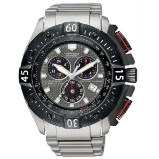 Citizen Eco Drive Mens Titanium Perpetual Calendar Watch