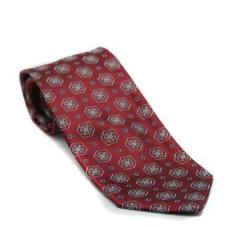 Gianfranco Ferre Mens Dark Red Silk Tie