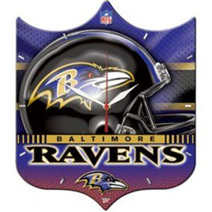 Baltimore Ravens High Definition Wall Clock (Quantity of 1