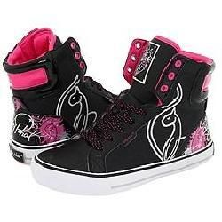 Baby Phat Lolita Cat Black/Silver/Pink Athletic
