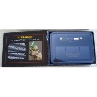STAR WARS   Réplique 0.45 sabre laser Yoda épis…   Achat / Vente