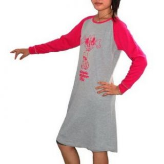 Womens Disney Minnie Mouse Grey Delta Nighty / Night Gown