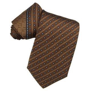 Versace Mens Silk Greek Key Tie