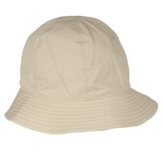 Burberry Cotton Reversible Khaki Bucket Hat