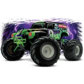 TRAXXAS Monster Jam Grave Digger 1/16 + Sac (72…   Achat / Vente