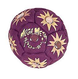 Mega Metal Dirtbag Hacky Sack   Dark Purple: Sports