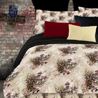 Street Revival Winged Cross Twin size Bed in a Bag with Sheet Set