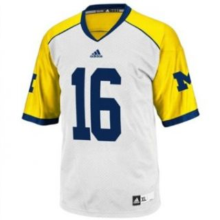 Michigan Wolverines Adidas #16 Cowboys Classic Youth