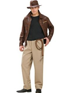 THE Officially Licensed Deluxe Indiana Jones Costume (Whip
