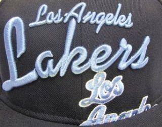 Los Angeles Lakers Throwback Hat Big Script Hardwood