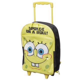 Nickelodeon SB21636 SC YE SpongeBob On a Roll Kids Rolling Backpack