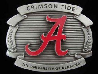 University of Alabama Crimson Tide Belt Buckle Clothing