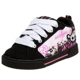 /Big Kid Sheer Skate Shoe,Black/White/Pink,12 M US Little Kid Shoes