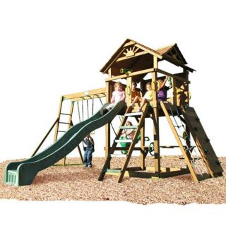 Play Time Stockbridge Series Swing Set Top Ladder with Chain