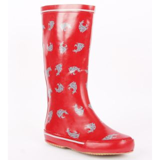 Washington State Cougar Womens Scattered Logo Rain Boots