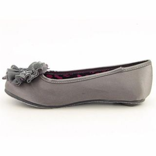 Sugar Kids Youth Kids Girlss LAmande Gray Flats (Size 4)