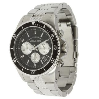 Michael Kors Mens Stainless Steel Chronograph Watch