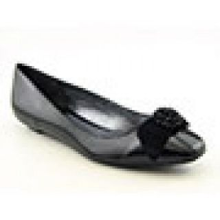 Etienne Aigner Womens Woodrow Black Flats & Oxfords