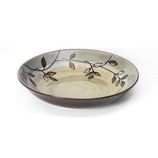Pfaltzgraff Everyday Stoneware Rustic Leaves Pasta Bowl