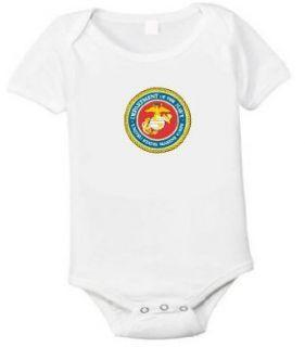 Usmc Logo United States Marine Baby One Piece T shirt Size
