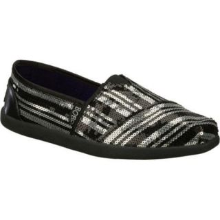 Womens Skechers BOBS World Peace Party Black