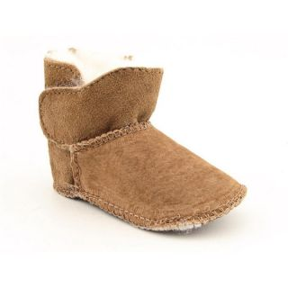 Emu Australia Infants Baby Toddlers Baby Bootie Brown Boots (Size 0 6
