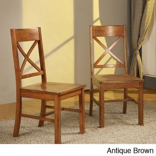 Solid Wood Dining Chairs (Se of 2)