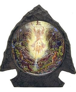 Bradford Exchange Messenger of Light Collectible Plate