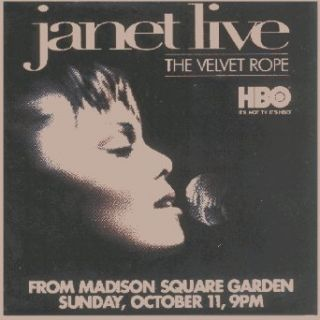 Janet Jackson   Velvet Rope (Side Face Shot)   2 Square