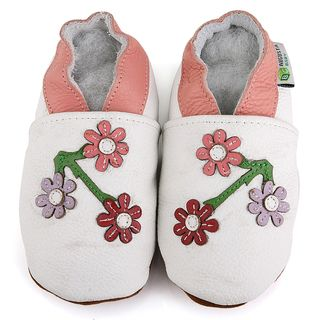 Baby Pie Cherry Blossom Leather Girls Shoes