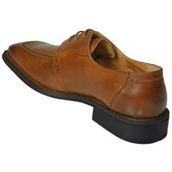 Boston Traveler Mens Faux Leather Oxfords