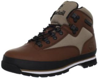 Timberland Mens Euro Hiker Leather And Fabric Boot Timberland Shoes