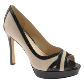 Womens Anne Klein Sandradee Vanilla Cream/Black Leather Today $44.95