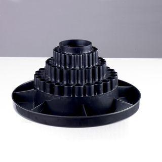Studio Designs Black Tabletop Desk Carousel