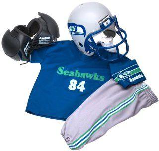 NFL Seattle Seahawks Youth Team Uniform Set, Small Sports