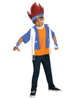 Beyblade Gingka Child Costume (Medium 8 10) Clothing