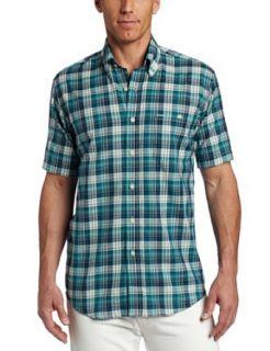 Pendleton Mens Short Sleeve Oceanside Button Down Shirt