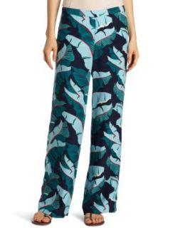 Lucky Brand Womens Printed Silk Pant, Multi, Large
