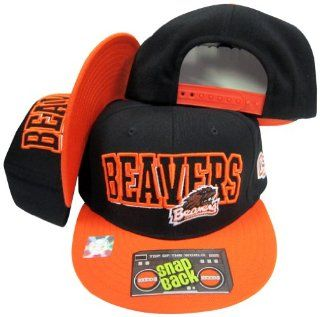 Oregon State Beavers Two Tone Plastic Snapback Adjustable