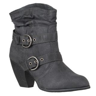 Riverberry Womens Bongo Ankle high Strappy Boots