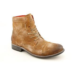 Steve Madden Mens Brunno Leather Boots
