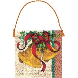 Gold Collection Petites Bells Ornament Counted Cross Stitch  4.25x4