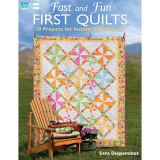That Patchwork Place Fast And Fun First Quilts Today: $20.99
